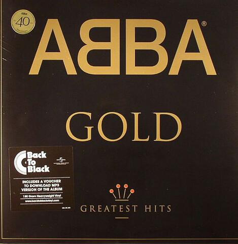Gold (Limited Back To Black Vinyl 2LP) von ABBA - 2LP jetzt im ABBA Official Store