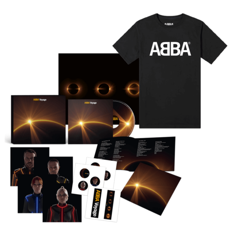 Voyage (Deluxe Box + T-Shirt) by ABBA -  - shop now at ABBA Official store