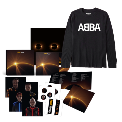 Voyage (Deluxe Box + Longsleeve) by ABBA -  - shop now at ABBA Official store