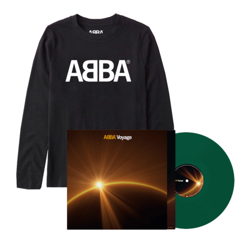 Voyage (Store Exclusive Green Vinyl + Longsleeve) by ABBA - LP + Longsleeve - shop now at ABBA Official store