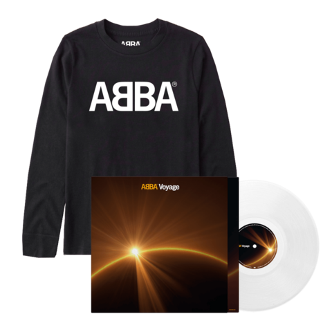 Voyage (Store Exclusive White Vinyl + Longsleeve) by ABBA -  - shop now at ABBA Official store