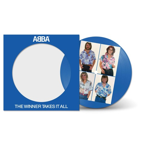 The Winner Takes It All (40th Anniversary - Ltd. Picture Disc) von ABBA - Vinyl jetzt im ABBA Official Store