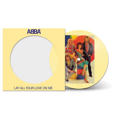 Lay All Your Love On Me (40th Anniversary - Ltd. Picture Disc) von ABBA - Vinyl jetzt im ABBA Official Store