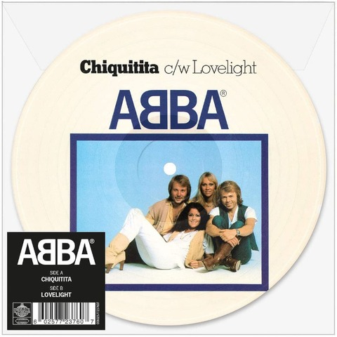 """Chiquitita (Limited 7"""" Picture Disc) von ABBA - Picture Single jetzt im ABBA Official Store"""