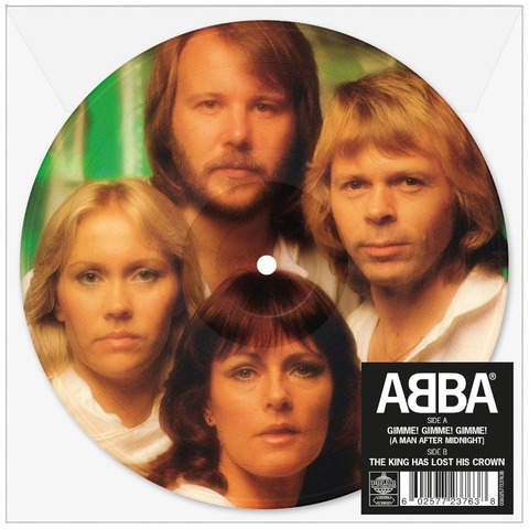 """Gimme! Gimme! Gimme! (Limited 7"""" Picture Disc) von ABBA - Picture Single jetzt im ABBA Official Store"""