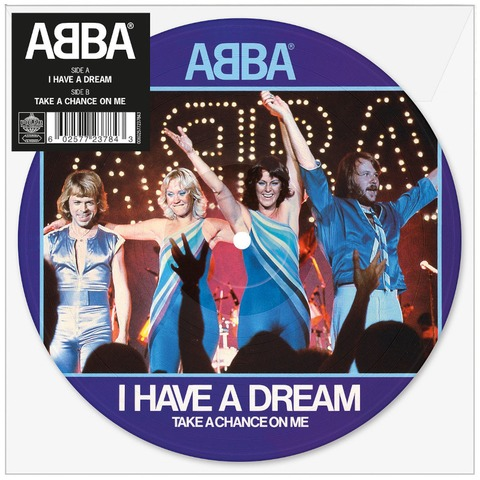 """I Have A Dream (Limited 7"""" Picture Disc) von ABBA - Picture Single jetzt im ABBA Official Store"""