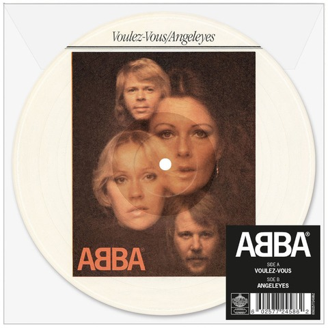 """Voulez Vous (Limited 7"""" Picture Disc) von ABBA - Picture Single jetzt im ABBA Official Store"""