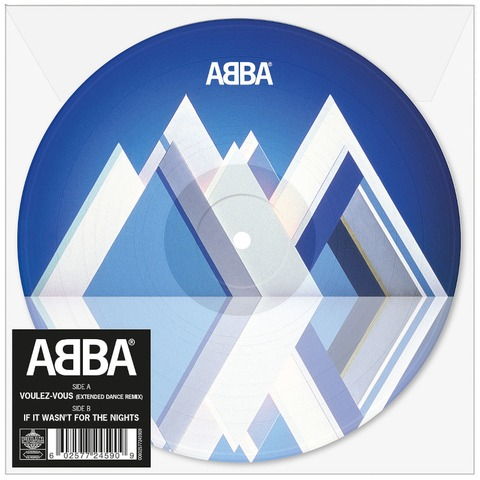 """Voulez Vous (Extended Dance Remix) (Limited 7"""" Picture Disc) von ABBA - Picture Single jetzt im ABBA Official Store"""
