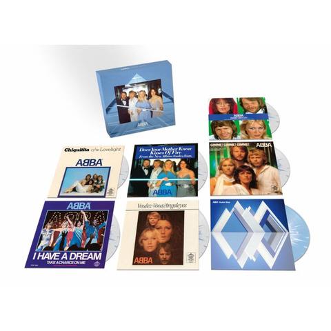 """Voulez Vous (Limited 7"""" Vinyl Box) von ABBA - Boxset jetzt im ABBA Official Store"""